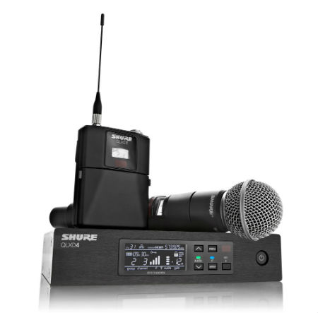 graphic product shure