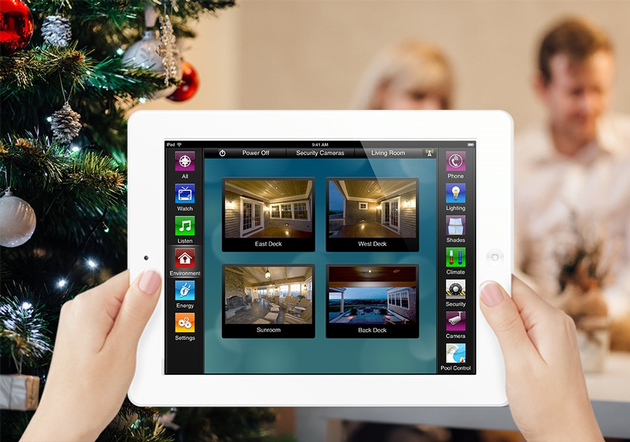 Have A Dazzling Holiday With Smart Home Control