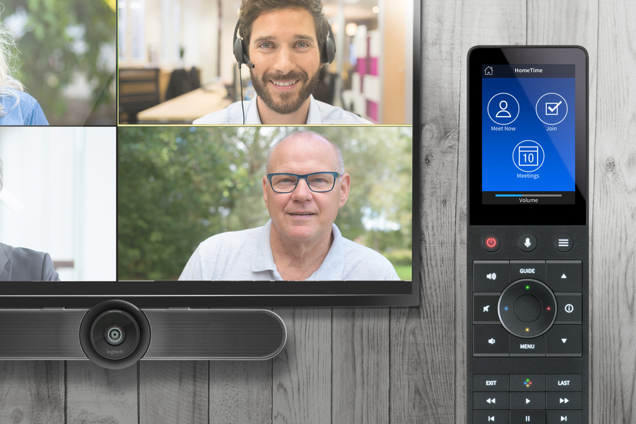 Have Better Meetings from the Home Office with Crestron HomeTime